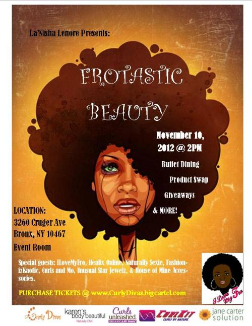 curlsandmo.com - FROTASTIC Event Flyer