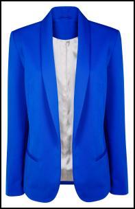 curlsandmo.com blue blazer