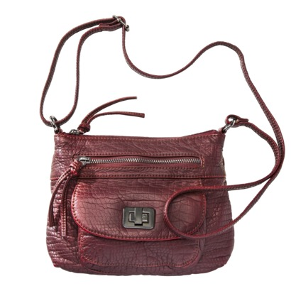 Bueno Crocodile Mini Handbag - Berry $6.98 On Sale