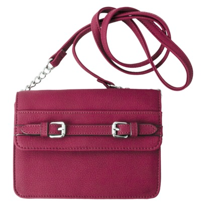 Merona® Small Crossbody with Chain - Berry $9.98 On Sale