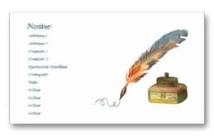 curlsandmo.com - business card