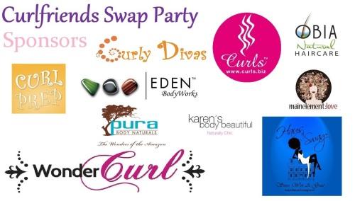Curlfriends Swap Party Sponsors